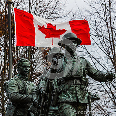 Free Canadian War Memorial Stock Photos - 46631413