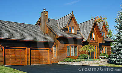 Canadian Wooden House