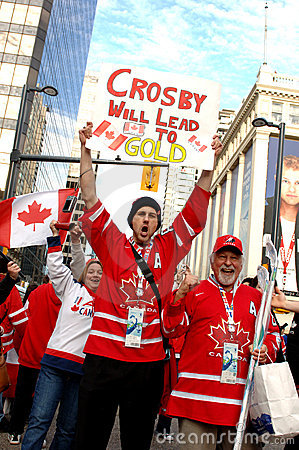 Canadians Editorial Image