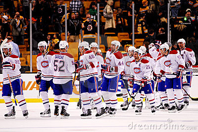 Canadiens Win! Editorial Photo