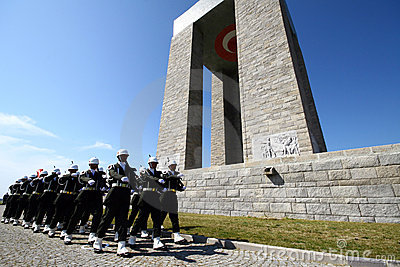 Canakkale Martyrs Memorial Editorial Image