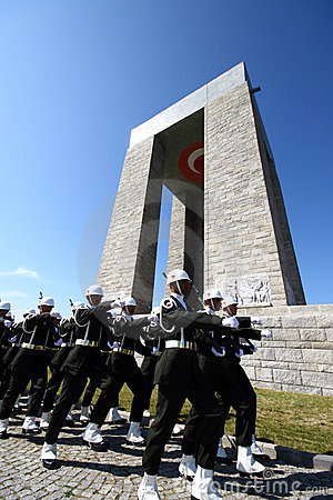 Canakkale Martyrs Memorial Editorial Photo