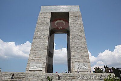 Canakkale Monument Editorial Image