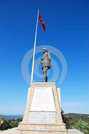 Canakkale Monument Conkbayiri Editorial Photography