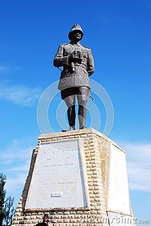 Canakkale Monument Conkbayiri Editorial Photo