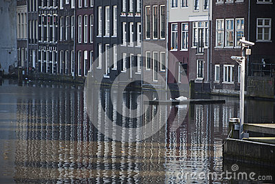 Canal of Amsterdam