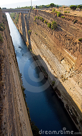 Canal of Corinth, Greece
