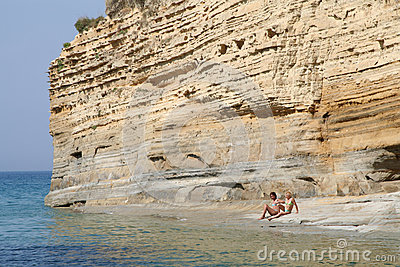 Canal d amour (Corfu,Greece) Editorial Photography