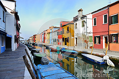 Burano city Editorial Photography