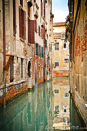 Free Canal In Venice Stock Image - 13942051