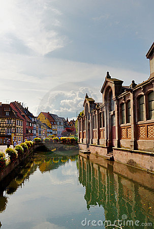 Canal in Petite Venice - Colmar, France