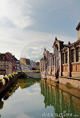 Canal in Petite Venice - Colmar, France