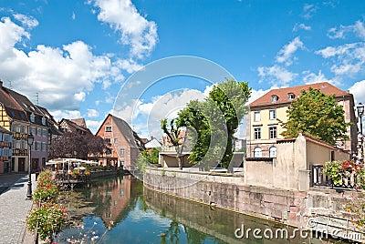 Canal Petite Venice, Colmar, France