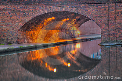 Canal Reflection with perfect symetry