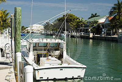 Canal and residences florida keys