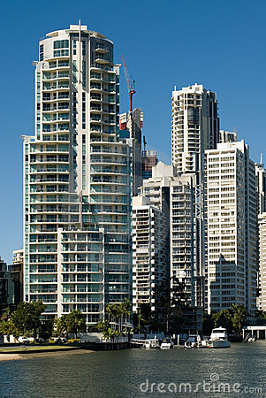 Canal Scene, Surfers Paradise