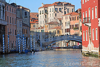 A canal of Venice - Italy