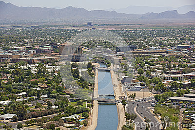 Canal view of Scottsdale