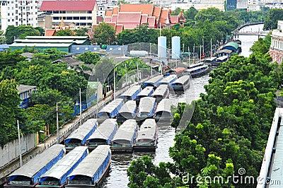 Canals In Bangkok