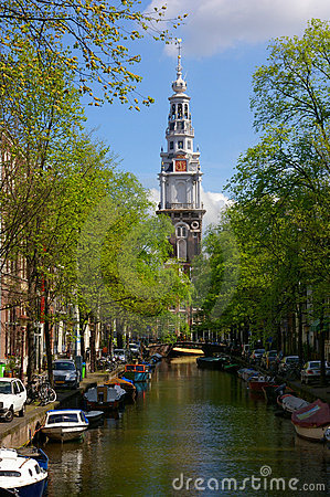 Free Canals In Amsterdam Royalty Free Stock Photo - 5409035