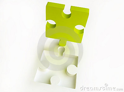 Canary-coloured Jigsaw Puzzle