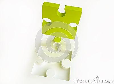 Canary-coloured Jigsaw Puzzle
