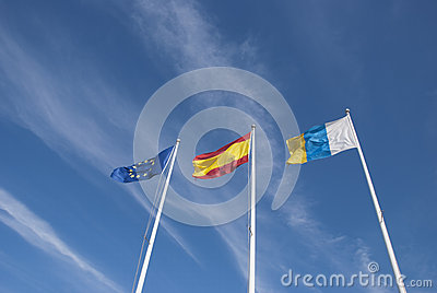 Canary Island Flags