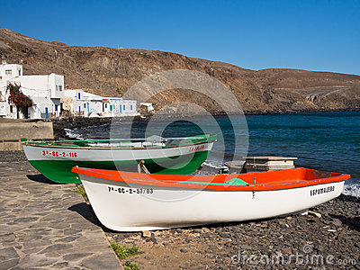 Canary Islands Fishing Village, Fuerteventura Editorial Image