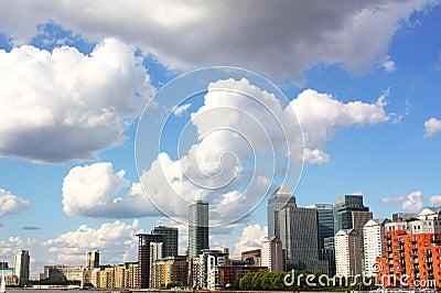 Canary Wharf Editorial Stock Image