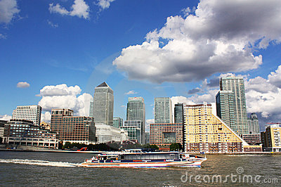 Canary Wharf Editorial Image