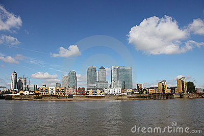 Canary Wharf Editorial Photo