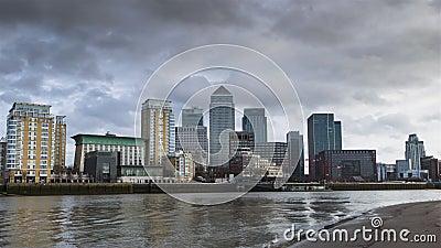 Canary Wharf zbiory wideo