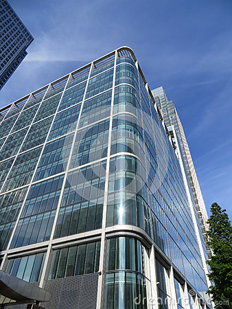 Canary Wharf byggnader