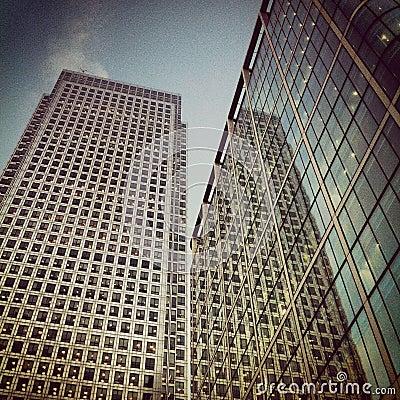Canary Wharf - Cabot Square