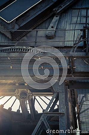 Free Canary Wharf Crane Royalty Free Stock Image - 43593486