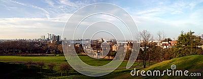 Canary Wharf and Greenwich