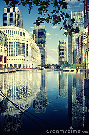 Free Canary Wharf, London Stock Images - 15993974