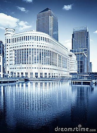 Free Canary Wharf, London Royalty Free Stock Photos - 16031708