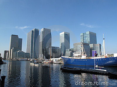 Canary Wharf In London s Docklands