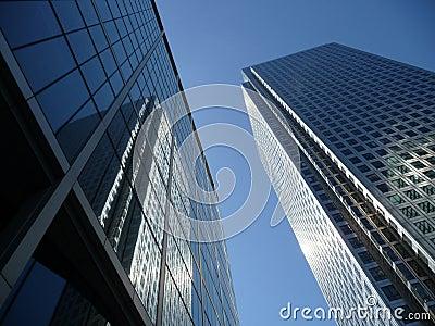 Canary Wharf Office Buildings