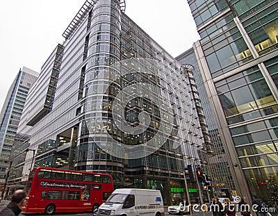 Canary Wharf office park