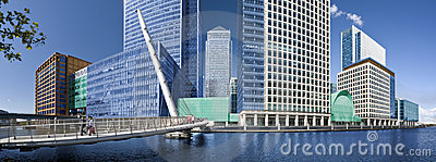 Canary Wharf panorama