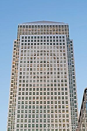 Free Canary Wharf Skyscraper Royalty Free Stock Photo - 22946605