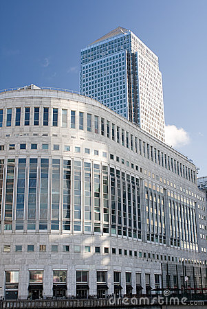 Free Canary Wharf Skyscrapers In London Royalty Free Stock Photos - 11722518
