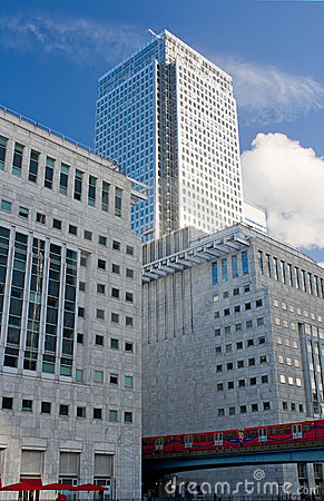 Free Canary Wharf Skyscrapers In London Stock Photo - 11742260