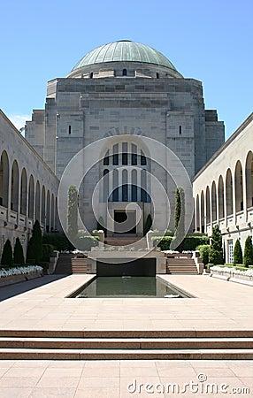 Canberra pomnika wojna