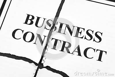 Cancel Business Contract