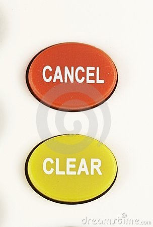 CANCEL - CLEAR Button 03