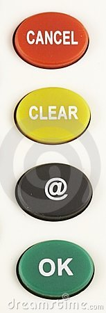 CANCEL - CLEAR - @ - OK Button 03