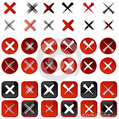 Cancel Icons